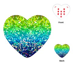Glitter 4 Playing Cards (Heart)