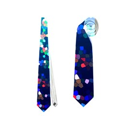 Glitter 4 Neckties (one Side)