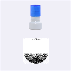 Glitter 4 Rubber Round Stamps (Small)