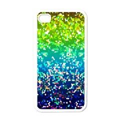 Glitter 4 Apple iPhone 4 Case (White)