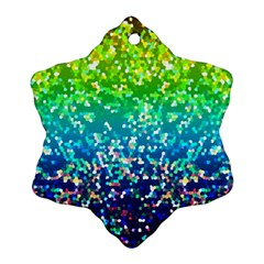 Glitter 4 Ornament (snowflake)