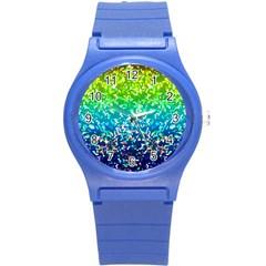 Glitter 4 Round Plastic Sport Watch (S)