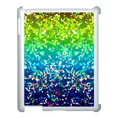 Glitter 4 Apple iPad 3/4 Case (White)