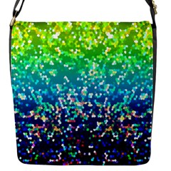 Glitter 4 Flap Messenger Bag (S)