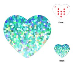 Mosaic Sparkley 1 Playing Cards (Heart)