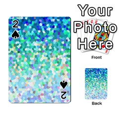 Mosaic Sparkley 1 Playing Cards 54 Designs