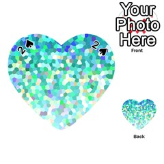 Mosaic Sparkley 1 Playing Cards 54 (heart)