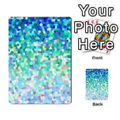 Mosaic Sparkley 1 Multi-purpose Cards (Rectangle)