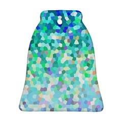 Mosaic Sparkley 1 Bell Ornament (2 Sides)