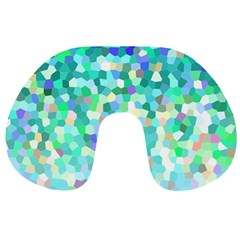 Mosaic Sparkley 1 Travel Neck Pillows