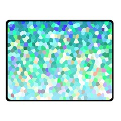 Mosaic Sparkley 1 Double Sided Fleece Blanket (Small)