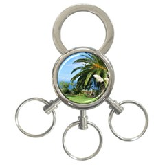 Sunny Tenerife 3-Ring Key Chains