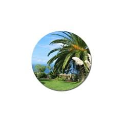 Sunny Tenerife Golf Ball Marker