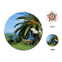 Sunny Tenerife Playing Cards (Round)