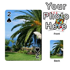 Sunny Tenerife Playing Cards 54 Designs