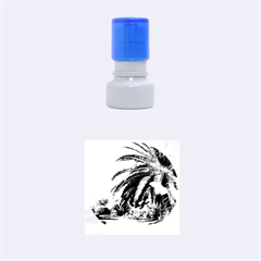 Sunny Tenerife Rubber Round Stamps (Small)