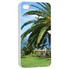 Sunny Tenerife Apple iPhone 4/4s Seamless Case (White)