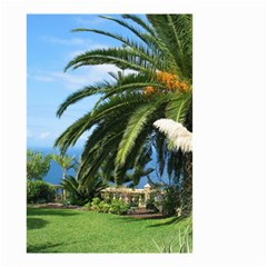 Sunny Tenerife Small Garden Flag (two Sides)
