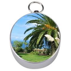 Sunny Tenerife Silver Compasses