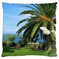 Sunny Tenerife Standard Flano Cushion Cases (one Side)