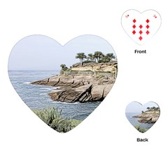 Tenerife,painted Version Playing Cards (heart)