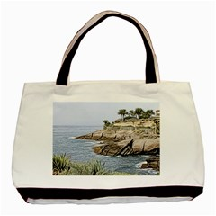 Tenerife,painted Version Basic Tote Bag (Two Sides)