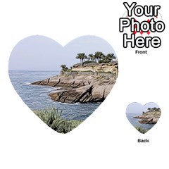 Tenerife,painted Version Multi-purpose Cards (Heart)