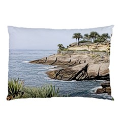 Tenerife,painted Version Pillow Cases