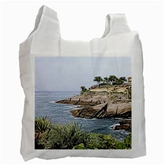 Tenerife,painted Version Recycle Bag (Two Side)