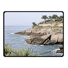 Tenerife,painted Version Fleece Blanket (small)