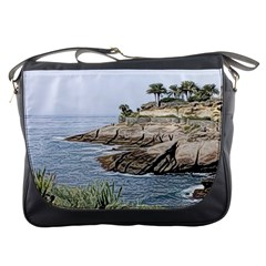 Tenerife,painted Version Messenger Bags