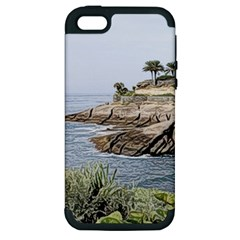 Tenerife,painted Version Apple iPhone 5 Hardshell Case (PC+Silicone)