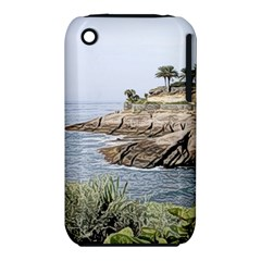 Tenerife,painted Version Apple iPhone 3G/3GS Hardshell Case (PC+Silicone)