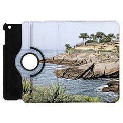 Tenerife,painted Version Apple iPad Mini Flip 360 Case