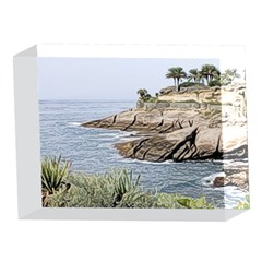 Tenerife,painted Version 5 x 7  Acrylic Photo Blocks