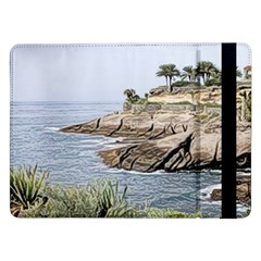 Tenerife,painted Version Samsung Galaxy Tab Pro 12.2  Flip Case