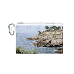 Tenerife,painted Version Canvas Cosmetic Bag (S)