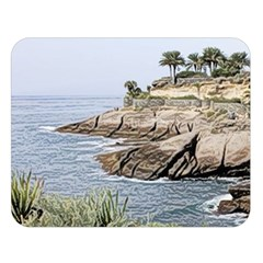 Tenerife,painted Version Double Sided Flano Blanket (Large)