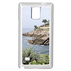 Tenerife,painted Version Samsung Galaxy Note 4 Case (white)