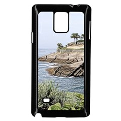 Tenerife,painted Version Samsung Galaxy Note 4 Case (black)