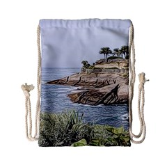 Tenerife,painted Version Drawstring Bag (Small)
