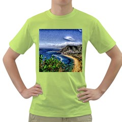 Tenerife 12 Effect Green T Shirt