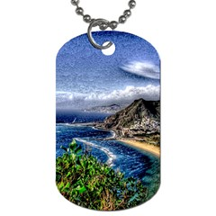 Tenerife 12 Effect Dog Tag (Two Sides)