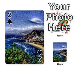 Tenerife 12 Effect Playing Cards 54 Designs