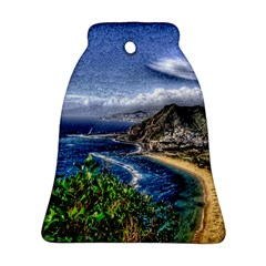 Tenerife 12 Effect Bell Ornament (2 Sides)