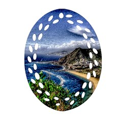 Tenerife 12 Effect Ornament (oval Filigree)