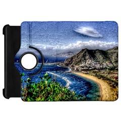 Tenerife 12 Effect Kindle Fire HD Flip 360 Case