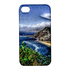 Tenerife 12 Effect Apple iPhone 4/4S Hardshell Case with Stand
