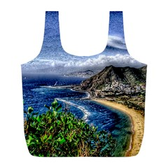 Tenerife 12 Effect Full Print Recycle Bags (L)