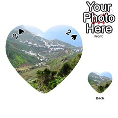 Tenerife 10 Playing Cards 54 (heart)